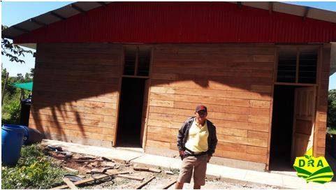 Construcción del Centro de Engorde de ganado vacuno de la Asociación Agroganadera Unidos Las Piedras