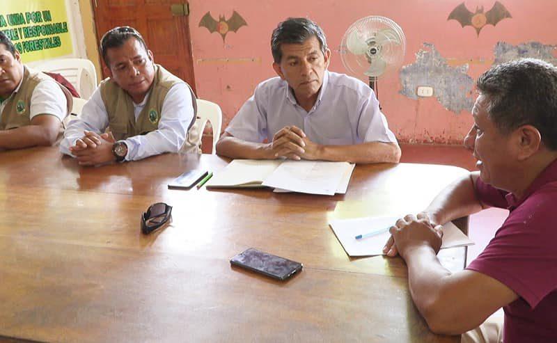 GOREMAD Y FEDERACIÓN DEPARTAMENTAL DE CASTAÑEROS, BUSCAN ALTERNATIVAS QUE PERMITAN RESOLVER EL PROBLEMA DE LAS SUPERPOSICIONES.