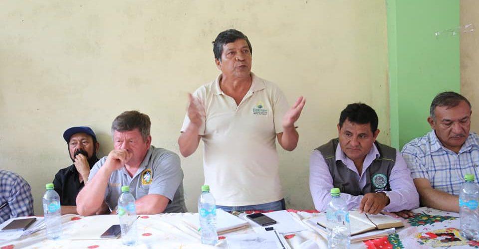 AUTORIDADES DE MADRE DE DIOS Y CUSCO, INICIARON DIÁLOGO PARA SOLUCIONAR CONFLICTO SOCIAL DE TIERRAS ENTRE COMUNIDADES DE PUENTE INAMBARI Y SAN LORENZO