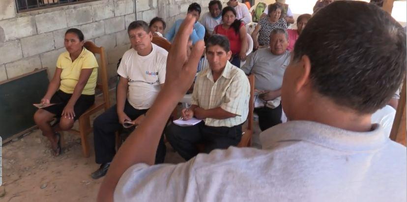 """Agricultores del sector de """"Sudadero"""" mostraron su agradecimiento a los funcionarios de la DRA"""