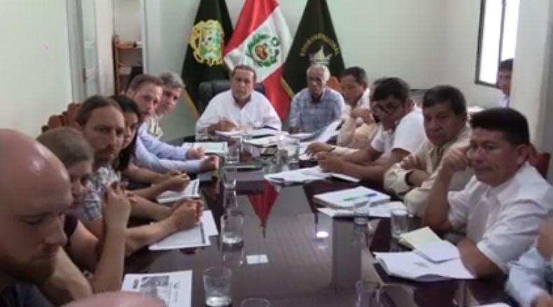 GOREMAD BUSCA RESPALDO TECNOLÓGICO DE ALEMANIA PARA IMPULSAR EL EJE PRODUCTIVO