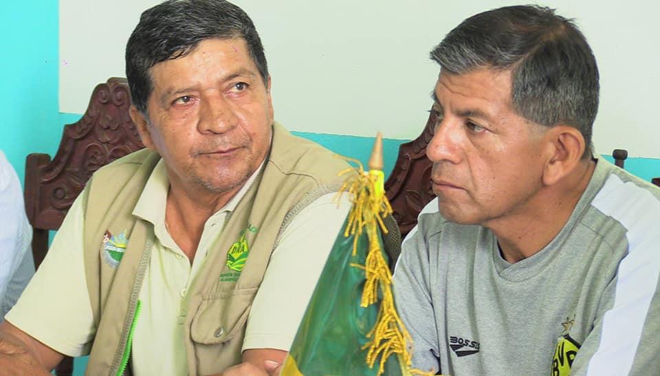 La dirección regional de Agricultura encabezado por el Ing. Julio Ruiz Soria, funcionarios de línea, trabajadores expresan su saludo en este 107° aniversario de creación política Madre de Dios