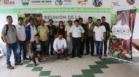 INTEGRANTES DE LA MESA TÉCNICA EVALUARON AVANCE DEL PROYECTO CACAO, QUE BUSCA INCREMENTAR ESTE CULTIVO A NIVEL REGIONAL