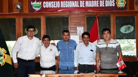 FUNCIONARIOS DE LA DRA Y PROYECTO CACAO, EXPUSIERON INFORME DE ACTIVIDADES ANTE CONSEJEROS DE COMISIÓN AGRARIA.