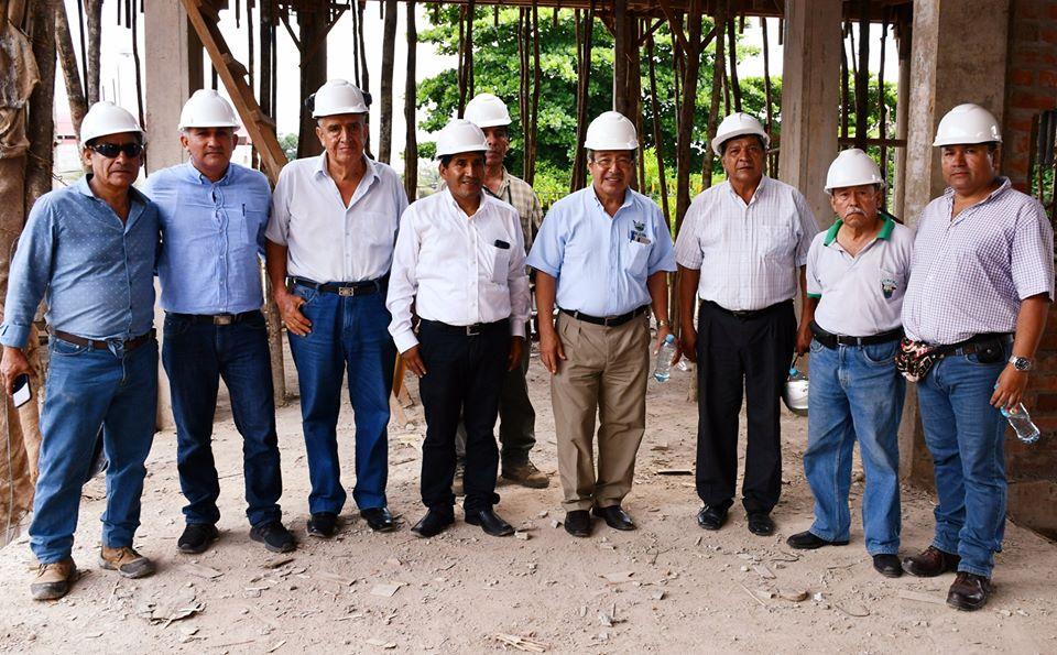 GOBERNADOR REGIONAL LUIS HIDALGO, ANUNCIÓ QUE OBRA PARA MEJORAR ATENCIÓN A HOMBRES DEL CAMPO AVANZA ACELERADAMENTE