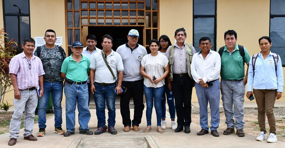 PROYECTOS AGRARIOS EXPUESTOS A FUNCIONARIOS DE LA COMUNA DISTRITAL DE SAN LORENZO GENERAN GRAN EXPECTATIVA.