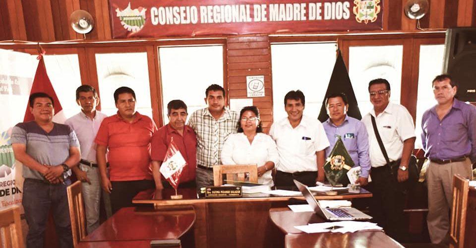 FUNCIONARIOS DE LA DRA Y COMISIÓN AGRARIA DEL CONSEJO REGIONAL, BUSCAN SOLUCIONES AL PROBLEMA AGRO-FORESTAL