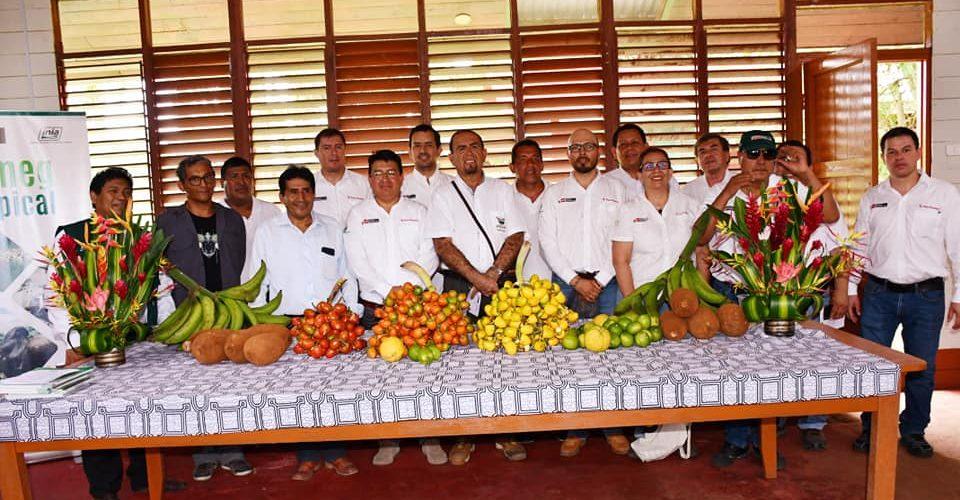 La visita de trabajo de funcionarios del Minagri y Goremad, realizaron visita de trabajo al Centro Experimental INIA-sector San Bernardo