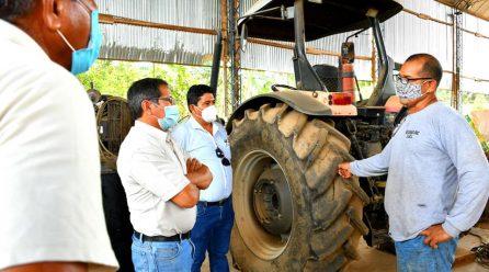 GOREMAD, INCREMENTA MAQUINARIA AGRÍCOLA PARA FACILITAR CAMPAÑA AGRARIA