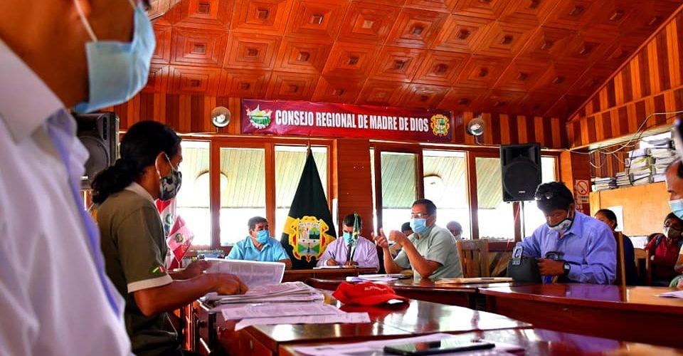 DRA Y CONSEJO REGIONAL BUSCAN ALTERNATIVAS DE SOLUCIÓN DE SUPERPOSICIÓN ÁREAS DE AGRICULTORES DEL SECTOR MANUANI-KOPALLPA.