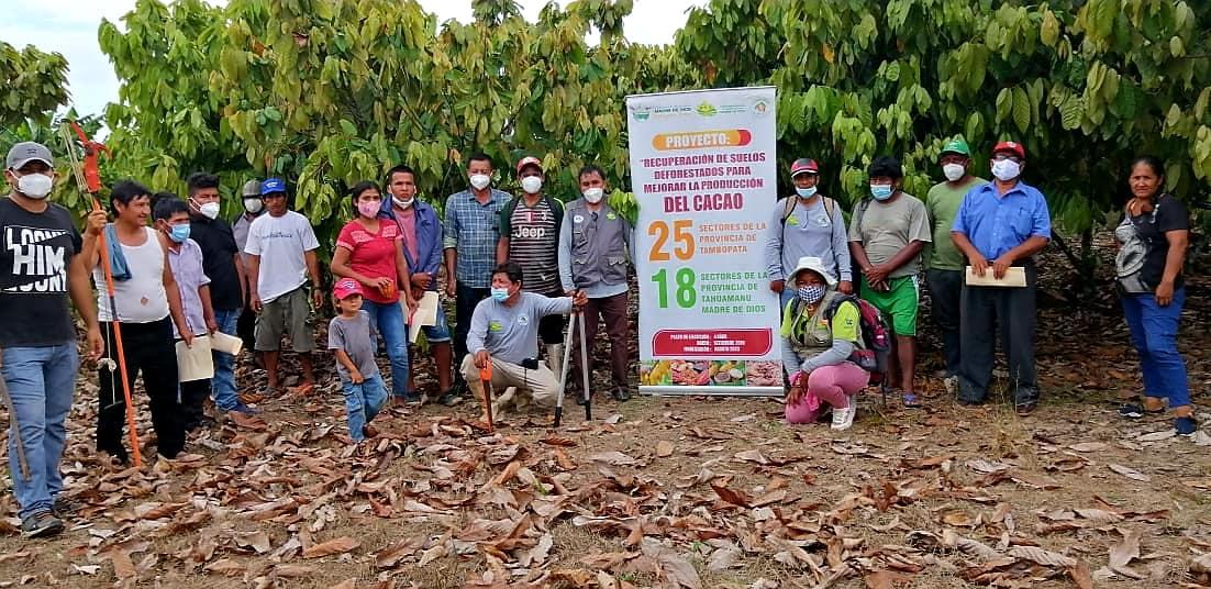 |MAYOR CAPACITACIÓN EN MANEJO DE CULTIVO DE CACAO A AGRICULTORES DE LA PROVINCIA TAHUAMANU Y TAMBOPATA.