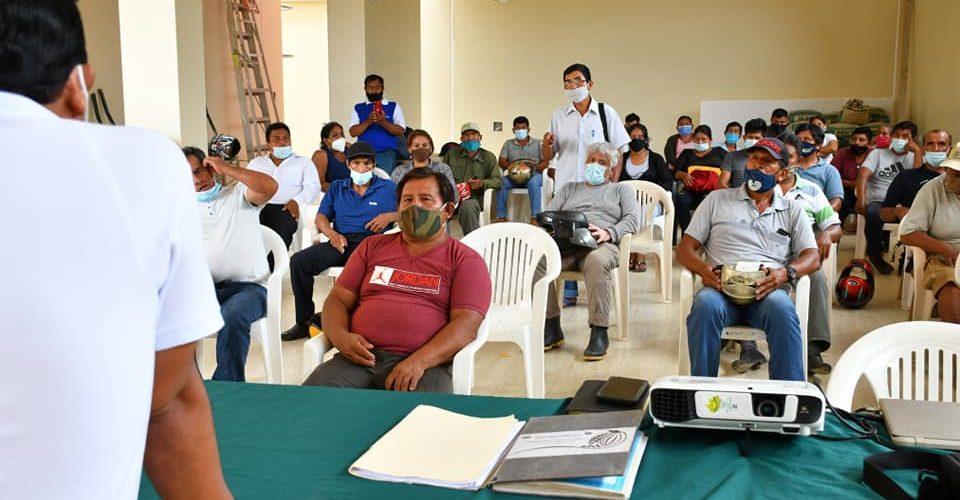 GOREMAD Y MINAGRI DESARROLLAN PRIMER TALLER DE CALIDAD Y MARKETING PARA LOS PRODUCTOS AGRÍCOLAS PARA ACCEDER A LOS MERCADOS.