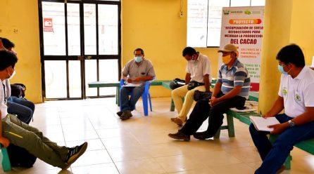 GOBIERNO REGIONAL DE MADRE DE DIOS ARTICULA ALIANZAS CON COOPERATIVAS Y ASOCIACIONES CACAOTEROS.
