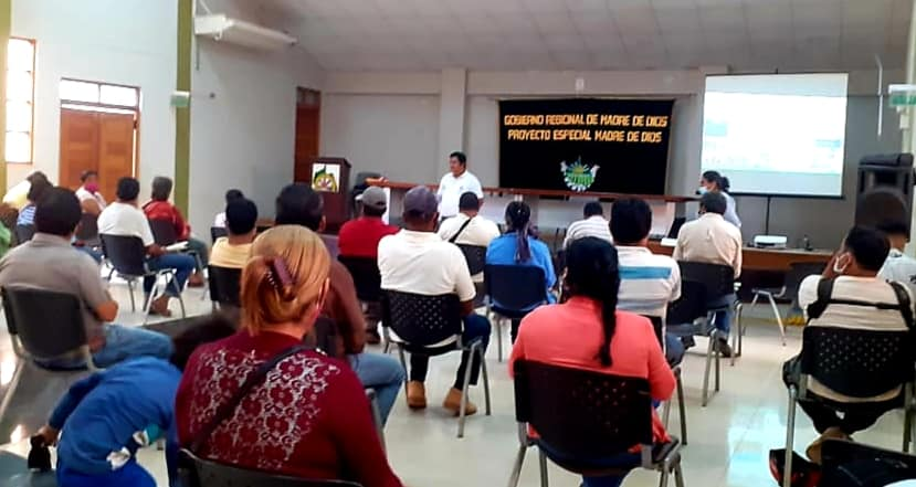 GOREMAD Y MINAGRI INICIAN FORMULACIÓN DE PROYECTOS DE INVERSIÓN PARA FORTALECER LA CADENA PRODUCTIVA DE COPOAZU, PIÑA Y BANANO, EN LAS PROVINCIAS MANU, TAHUAMANU Y TAMBOPATA.