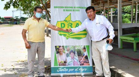 GOREMAD DRA Y AGRORURAL ARTICULAN ESFUERZOS PARA MEJORAR LA ATENCIÓN DE LOS HOMBRES DEL CAMPO DE MADRE DE DIOS.
