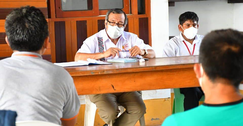GOBIERNO REGIONAL ATIENDE DEMANDAS DEL DISTRITO DE TAHUAMANU-SAN LORENZO.