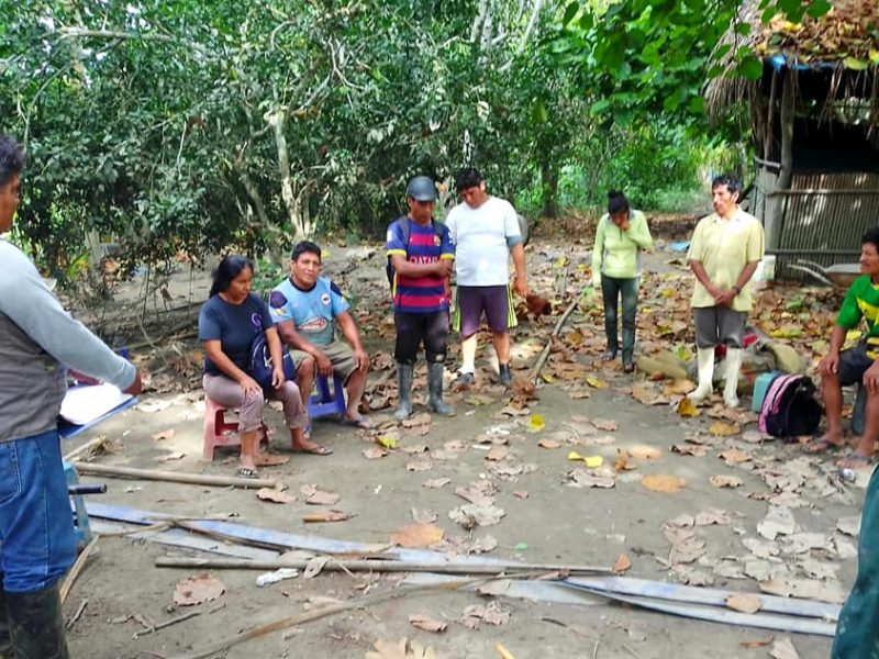 GOREMAD Y DRA INFORMA A LOS AGRICULTORES DE ALTA PASTORA, SOBRE LOS PROGRAMAS DEL MIDAGRI, QUE PUEDEN UTILIZAR EN SU BENEFICIO