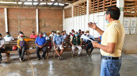 GOREMAD Y AGRICULTORES DAMNIFICADOS POR INUNDACIONES TRABAJAN UNIDOS PARA PLANTEAR ESTRATEGIAS PARA LA SOLUCIÓN A LA PERDIDAD DE CULTIVOS.