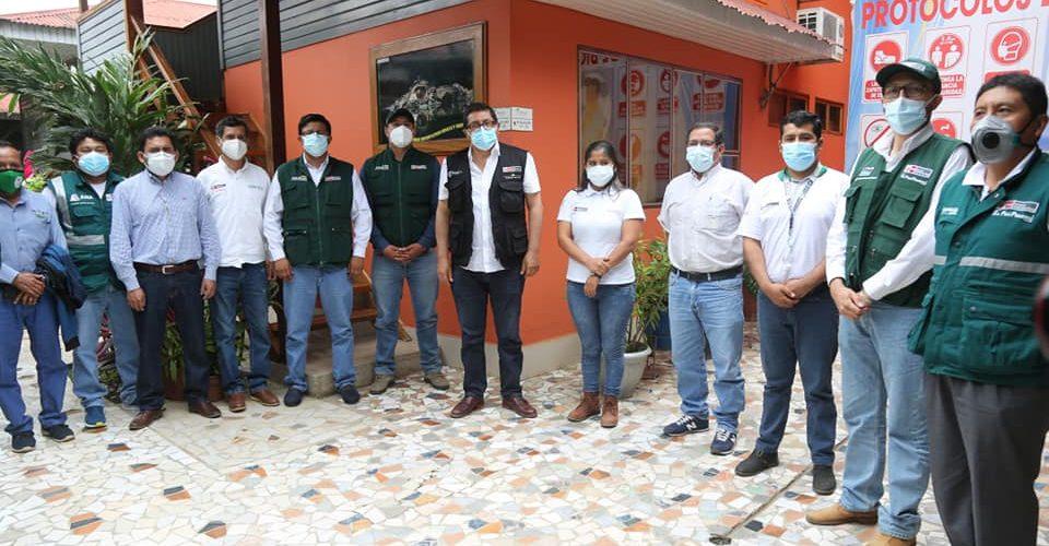 MINISTRO DE AGRICULTURA FEDERICO TENORIO, SOSTUVO REUNIÓN CON FUNCIONARIOS DE LA DRA, Y ACORDARON INTENSIFICAR APOYO AL SECTOR AGROPECUARIO.